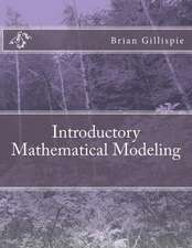 Introductory Mathematical Modeling