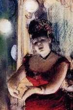 ''Cafe Concert Singer'' by Edgar Degas - 1878