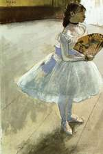 ''Dancer with a Fan'' by Edgar Degas - 1879