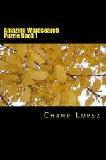 Amazing Wordsearch Puzzle Book 1