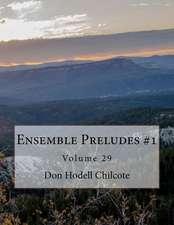Ensemble Preludes #1 Volume 29