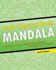 Craft Coloring Book (Mandala Patterns)