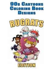 90s Cartoons Coloring Book Designs