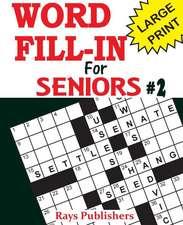 Word Fill-Ins for Seniors 2