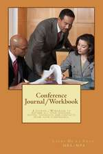 Conference Journal/Workbook