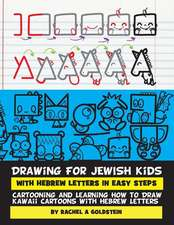 Drawing for Jewish Kids with Hebrew Letters in Easy Steps
