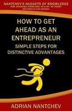 How to Get Ahead as an Entrepreneur