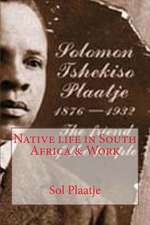 Native Life in South Africa & Work