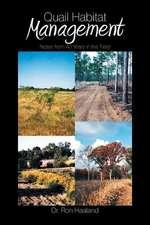 Quail Habitat Management