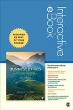 Business Ethics Interactive eBook: Best Practices for Designing and Managing Ethical Organization