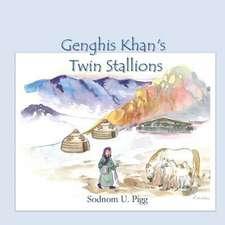 Genghis Khan Twin Stallions