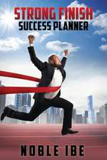Strong Finish Success Planner