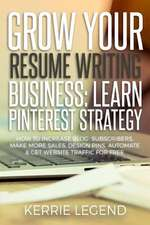 Grow Your Resume Writing Business