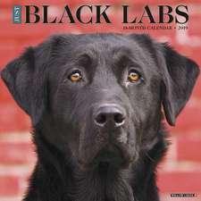 2019 Just Black Labs Wall Calendar (Dog Breed Calendar)