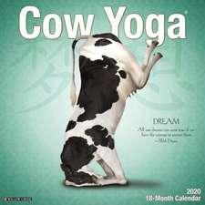 COW YOGA 2020 WALL CALENDAR