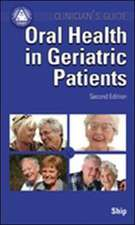 Oral Health in Geriatric Patients