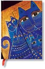 FELINES MEDITERRANEAN CATS MIDI JOURNAL
