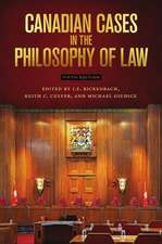 Canadian Cases in the Philosophy of Law - Fifth Edition