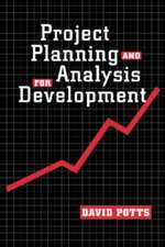 Potts, D:  Project Planning and Analysis for Development