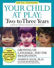Your Child at Play Two to Three Years: Growing Up, Language, and the Imagination