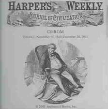 Harper's Weekly CD 11/10/1860-12/28/1861