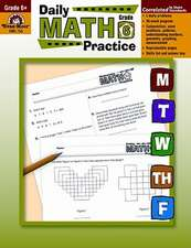 Daily Common Core Math Practice, Grade 6