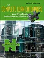 Keyte, B: The Complete Lean Enterprise