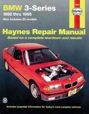 BMW Automotive Repair Manual 1992-1998
