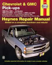 Chevrolet and GMC Pick-Ups (1988-2000)