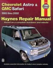 Haynes Chevrolet Astro & GMC Safari 1985 Thru 2005