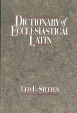 Dictionary of Ecclesiastical Latin