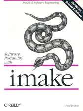 Software Portability with Imake 2e