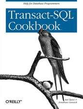 Transact–SQL Cookbook