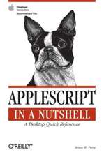 Applescript in a Nutshell – A Desktop Quick Reference