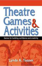 Theatre Games and Activities