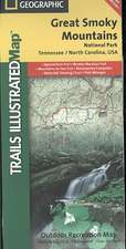 Great Smoky Mountains National Park: Trails Illustrated National Parks