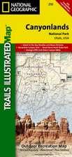 Canyonlands National Park: Trails Illustrated National Parks