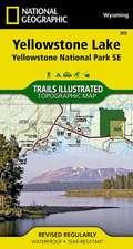 Yellowstone Se/yellowstone Lake: Trails Illustrated National Parks