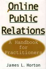 Online Public Relations:  A Handbook for Practitioners
