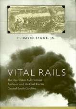 Vital Rails:  The Charleston & Savannah Railroad and the Civil War in Coastal South Carolina