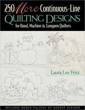 250 More Continuous-Line Quilting Design - Print on Demand Edition