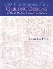 250 Continuous-Line Quilting Designs - Print on Demand Edition