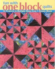 Fun with One Block Quilts:  12 Projects in Multiple Sizes from 1 Simple Block
