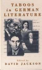 Taboos in German Literature