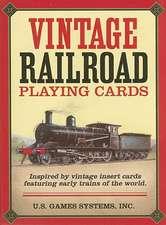 Vintage Railroad Card Game:  Sacred Tools for Reading the Mind of God