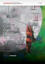 Aging, Cancer and Age–related Disease: Common Mechanisms?, Volume 1197