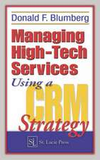 Managing High-Tech Services Using a Crm Strategy -Conformant E-Learning