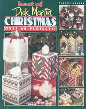Best of Dick Martin Christmas:  Plastic Canvas