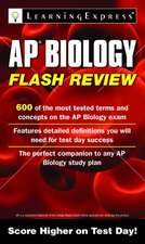 AP Biology Flash Review