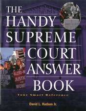 The Handy Supreme Court Answer Book